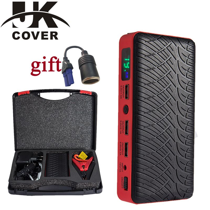 JKCOVER 26000mAh 600A Car Jump Starter Booster Starting Device Car Charger Multi-function Starter Jumper Emergency Car Battery
