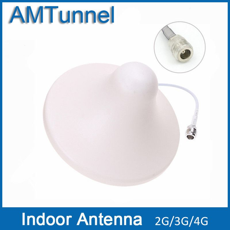 3G Indoor Antenna 4G LTE1800Mhz Antenna GSM Ceiling Antenna 2G External Antenna for Mobile Signal Booster Repeater or Amplifier