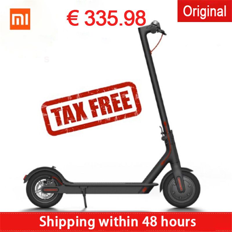 Hot selling xiaomi Electric scooters hoverboard Magnesuim-aluminum alloy longboard Mijia Smart scooter popular germany stock