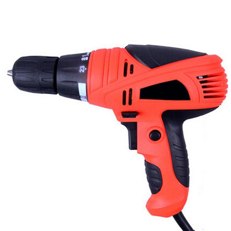 220 V 1000 W multifonction couple perceuse électrique haute puissance Double réduction perceuse à main électrique pour perforateur