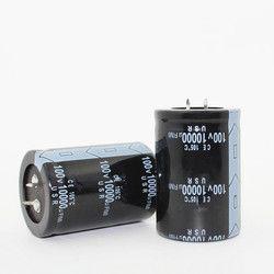 Gratis pengiriman 12 PCS Elektrolit kapasitor 100 V 10000 UF 10000 UF 100 V 100v10000uf 35*50 kapasitor Elektrolit kualitas terbaik