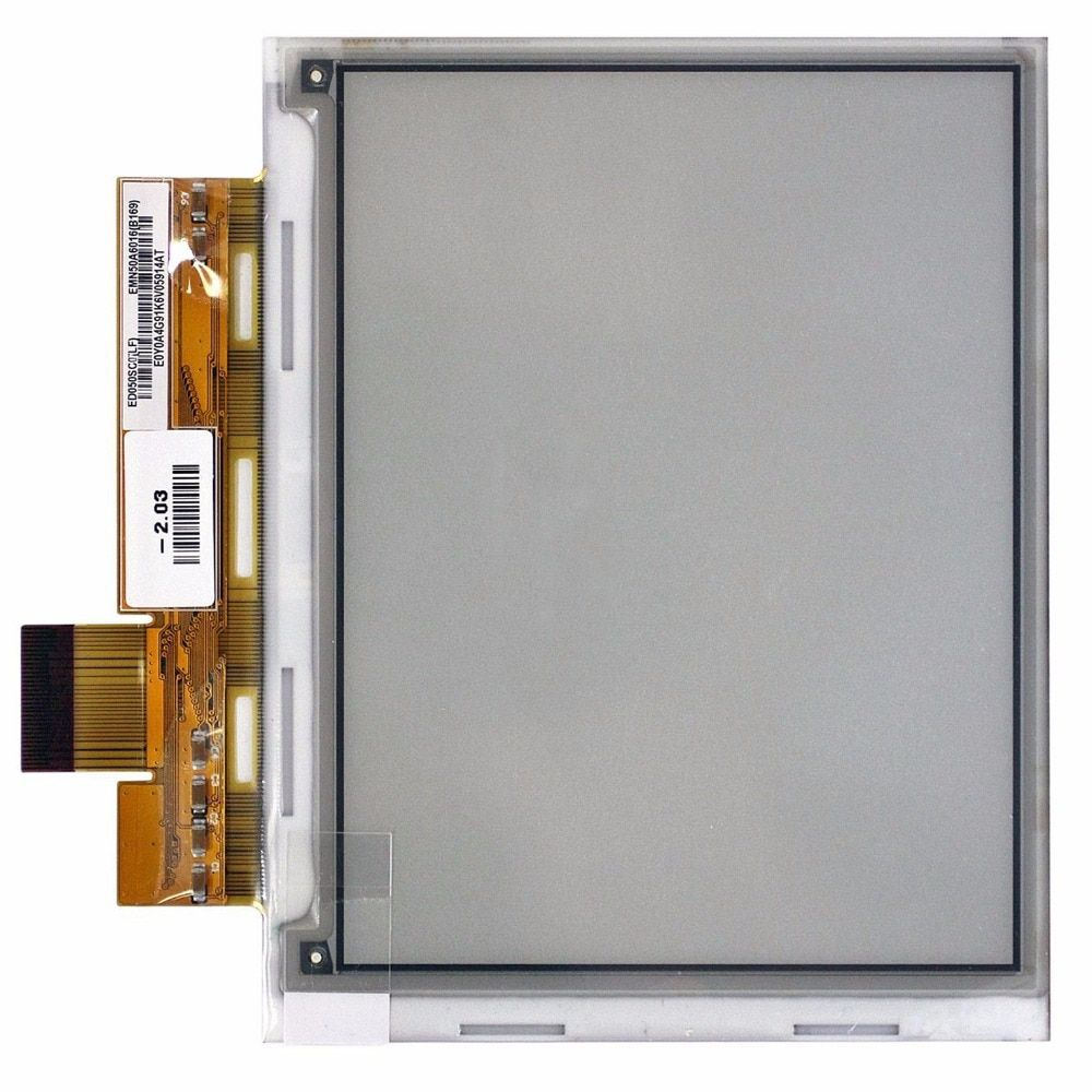100% Original New 100% ED050SC5 5 e-ink for pocketbook 515 <font><b>Reader</b></font> lcd Display free shipping