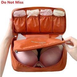 Не упустите бюстгальтер нижнее белье сумка чемодан Организатор Для женщин косметичка Чемодан органайзер для белья Макияж сумка-Органайзер