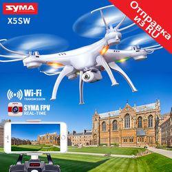 SYMA X5SW Drone dengan Kamera WIFI Real-Time Mengirimkan FPV HD Camera Drone X5A Tidak Ada Kamera Quadcopter Quadrocopter 4CH RC Helicopter