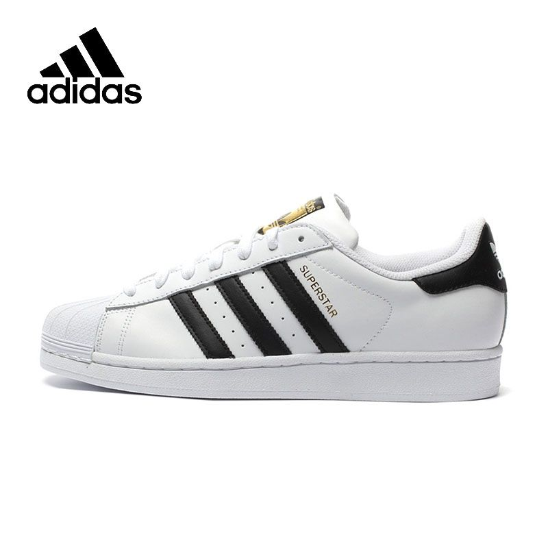 Original New Arrival Authentic Adidas Superstar Classics Unisex Men's and Women's Skateboarding Shoes Anti-Slippery <font><b>Sneakers</b></font>