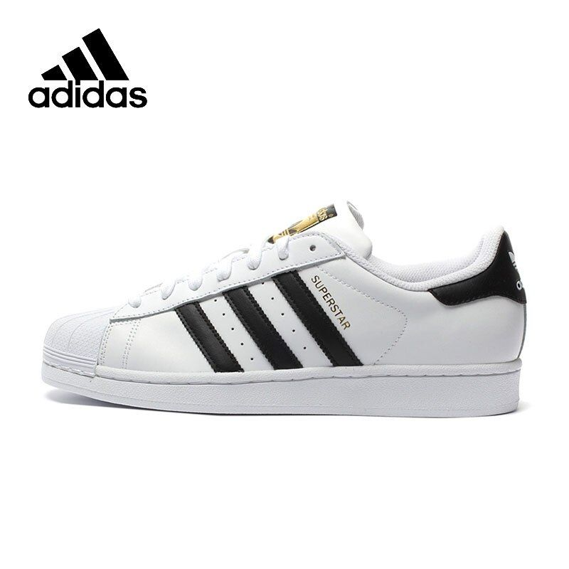 Original New Arrival Authentic Adidas Superstar Classics Unisex Men's and Women's Skateboarding Shoes Anti-Slippery Sneakers