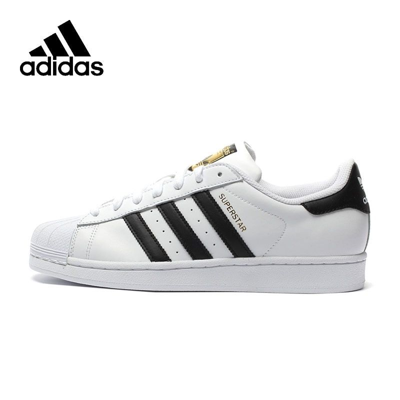 Original New Arrival Authentic Adidas Superstar Classics Unisex Men's and Women's <font><b>Skateboarding</b></font> Shoes Anti-Slippery Sneakers