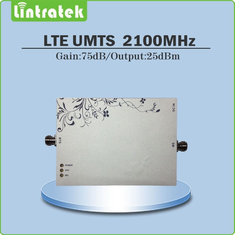 Gain 75dB (LTE Band 1) 2100MH Signal Repeater Cellphone Signal Booster WCDMA UMTS 2100MHZ Signal Amplifier with AGC/MGC function