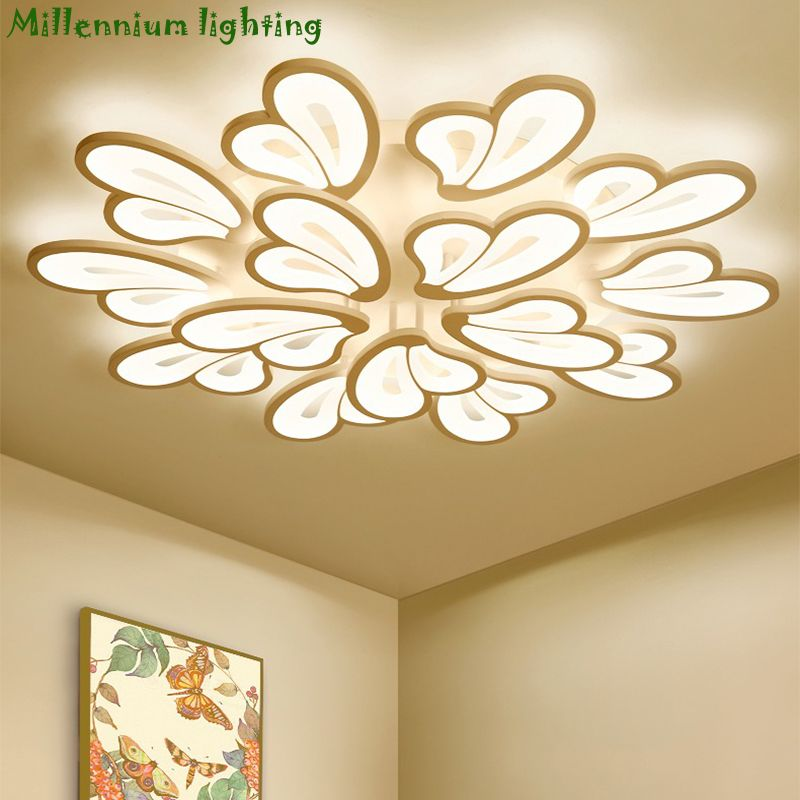 LED moderne kronleuchter lichter für wohnzimmer schlafzimmer licht esszimmer lampe decke AC110-260V hause leuchten kostenloser lieferung