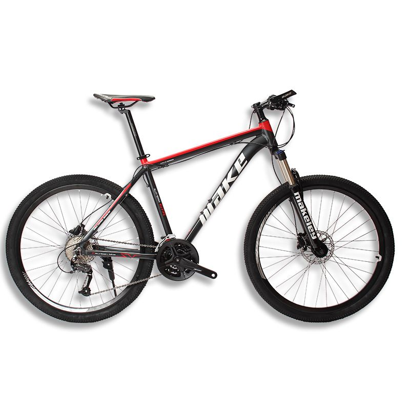 MAKE Mountain Bike Aluminum Frame 17 19 Shimano 27 Speed 26 27,5 Wheel <font><b>Hydraulic</b></font>/Mechanical Brake