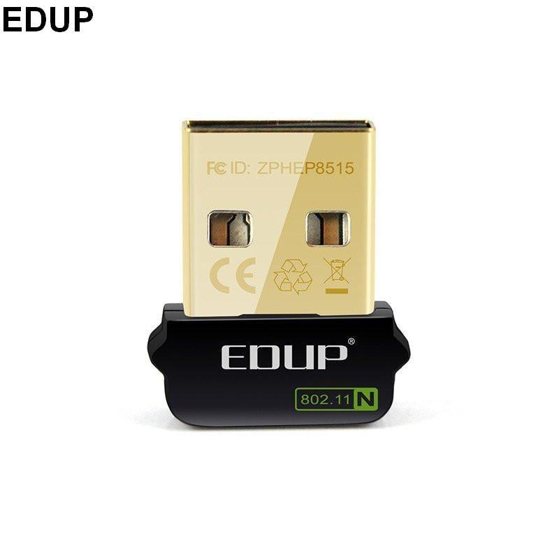 Mini USB 150 Mbps 802.11n wifi adaptateur carte réseau sans fil EDUP EP-N8508GS RTL8188CUS Chipset pour Raspberry Pi 512 M modèle B