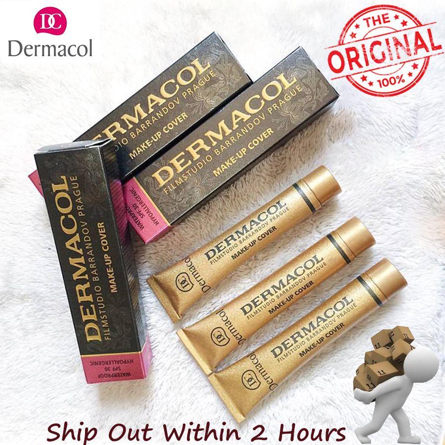 Dermacol Couverture De Maquillage Authentique 100% 30g Amorce Anti-cernes Base Professionnel Visage Dermacol Maquillage Fondation Contour Palette