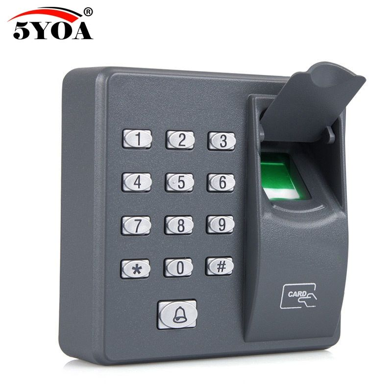 Biometric Fingerprint Access Control Machine Digital Electric RFID Reader Scanner Sensor Code System For Door Lock