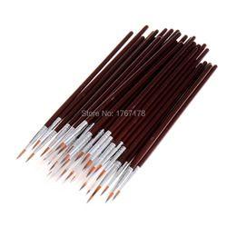 20 pcs acrylic cat brushes