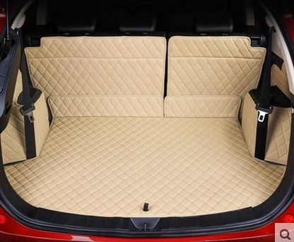 Customized full covered car trunk mats for Mitsubishi Outlander 5seats waterproof boot carpets cargo liner rugs
