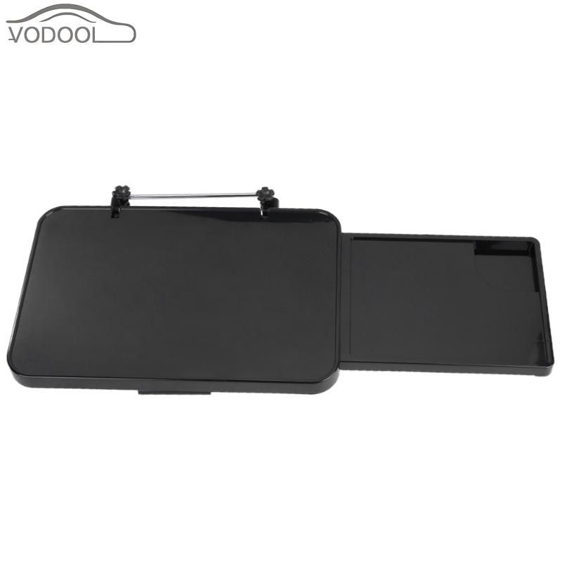 Foldable Drawer Style Car Desk for Notebook Laptop PC with Mouse Disk Automobiles Computer Rack Tray Multifunction Dining Table