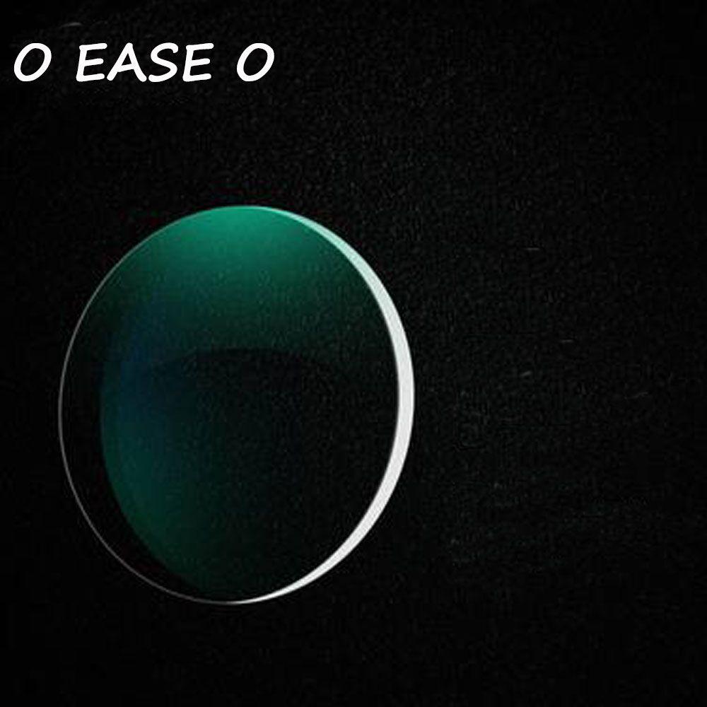 1.61 Haute Indice Mince Clair Optique Lentilles HMC EMI Anti-UV Myopie Hypermétropie Rayonnement Protection Asphériques Lentille de Prescription