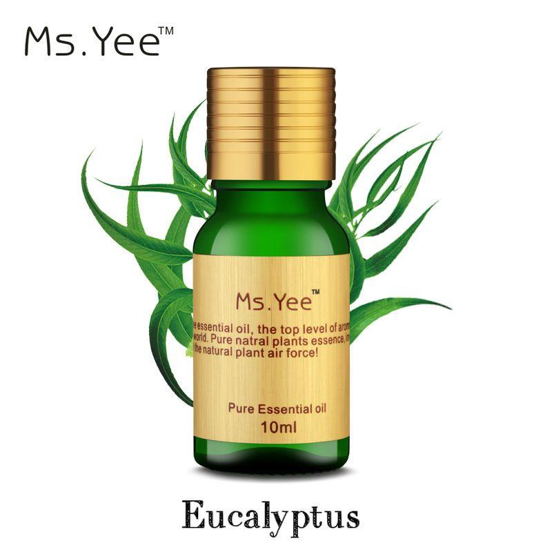 L'huile d'eucalyptus-Plantes Plus Élevé Organique Certifié Huiles Essentielles D'eucalyptus 100% Pur et Naturel Non Dilué de Qualité Thérapeutique 10 ml