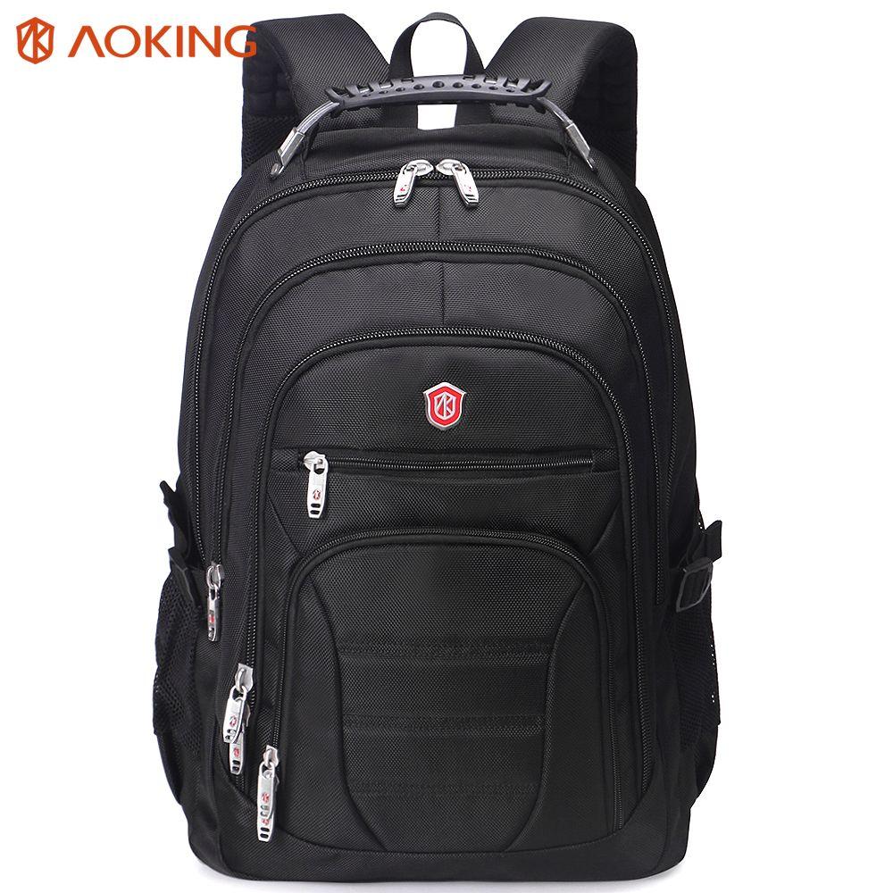 Aoking Original Brand New Patent Design Massage Air Cushion1 Men's Laptop Backpack Men Large <font><b>Capacity</b></font> Nylon Comfort Backpacks