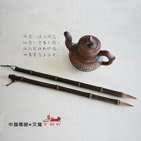 Кисть для китайской живописи ручки из натурального бамбука конский волос обычный шрифт cursive каллиграфия ручка-кисть для письма живопись ка...