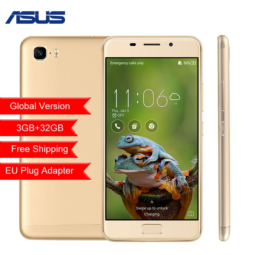 Global version ASUS Zenfone 3S Max ZC521TL 5.2