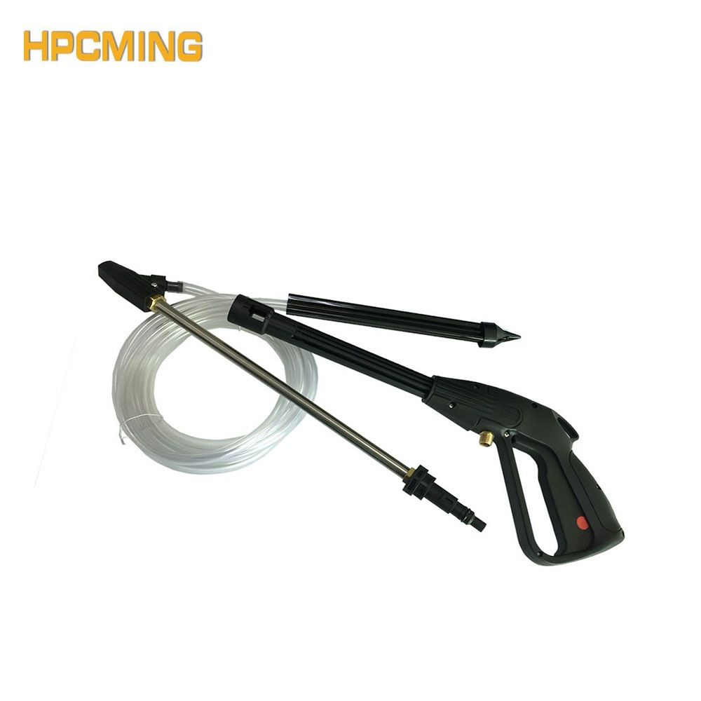 2017 New Real Gs High Pressure Cleaning Machine Plastic Gun Connected Sandblasting Hose Assembly(mobh012)