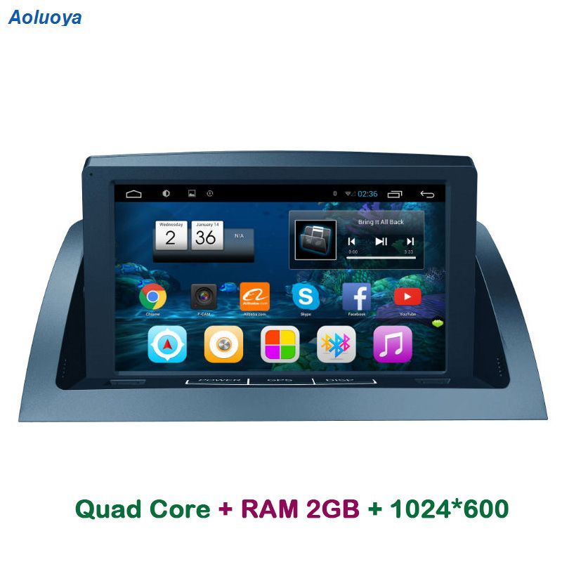 Aoluoya RAM 2G Android Car Radio DVD GPS player For Mercedes Benz C200 W204 2005 2006 2007-2012 Audio Navigation multimedia WIFI