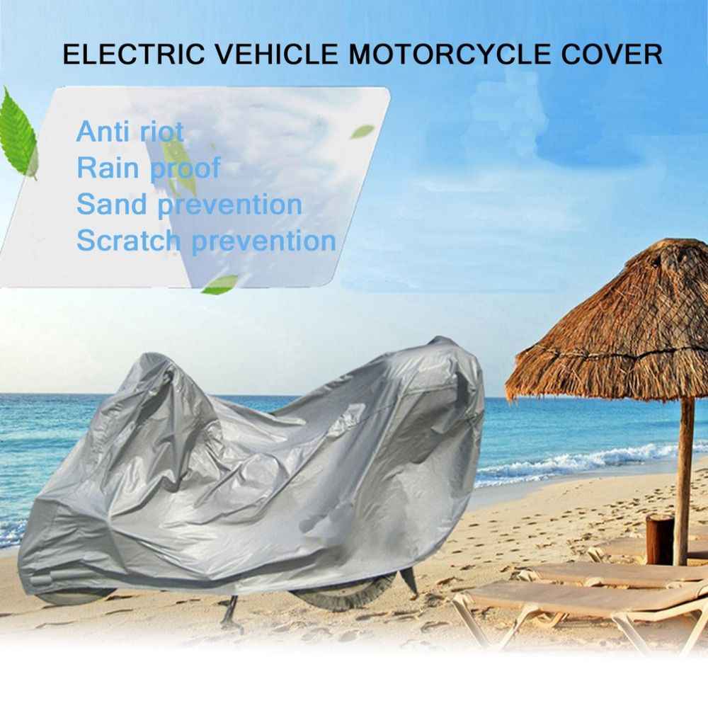 New Full Protective Motorcycle Covers Anti UV Weatherproof Breathable Electric Bicycle Hood Outdoor Indoor Tent Drop Shipping