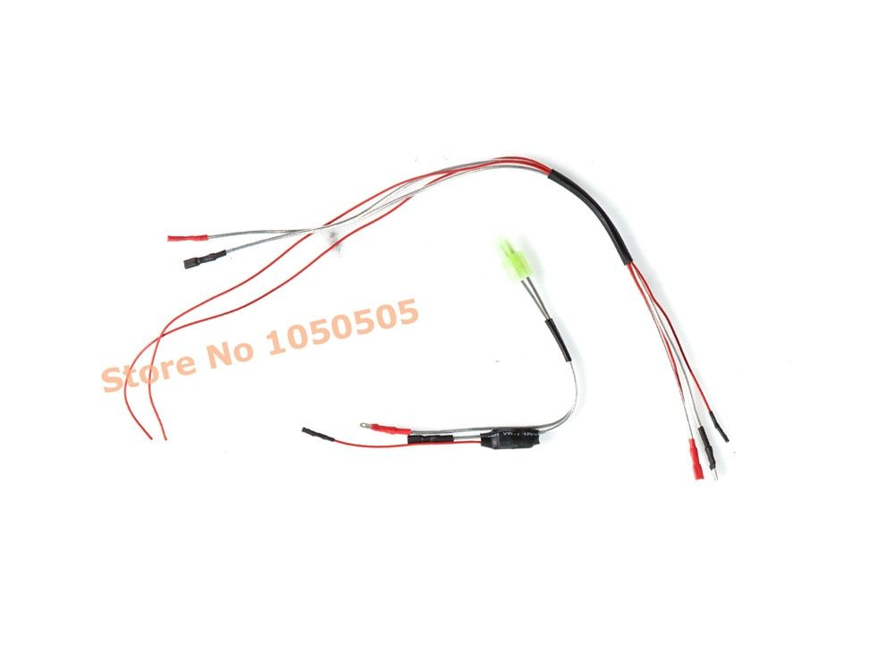 Micro SMD Mosfet Unit for AEG Airsoft Air Guns Pistol Metal Rifle Pistola Battery Fit for AEG with mechanical switch