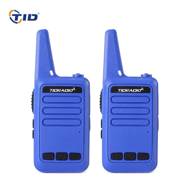 2pcs 7 colors Mini Walkie Talkie Kids Radio TID TD-M9 3W UHF 400-480MHz Frequency Portable Ham Radio Hf Transceiver