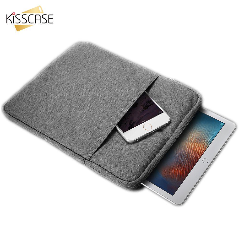 KISSCASE Tablet Manches Housse Sac pour Apple iPad Mini 1 2 3 4 Couverture Casual Antichoc Cas Pour iPad Mini2 Mini3 Mini4 Couverture