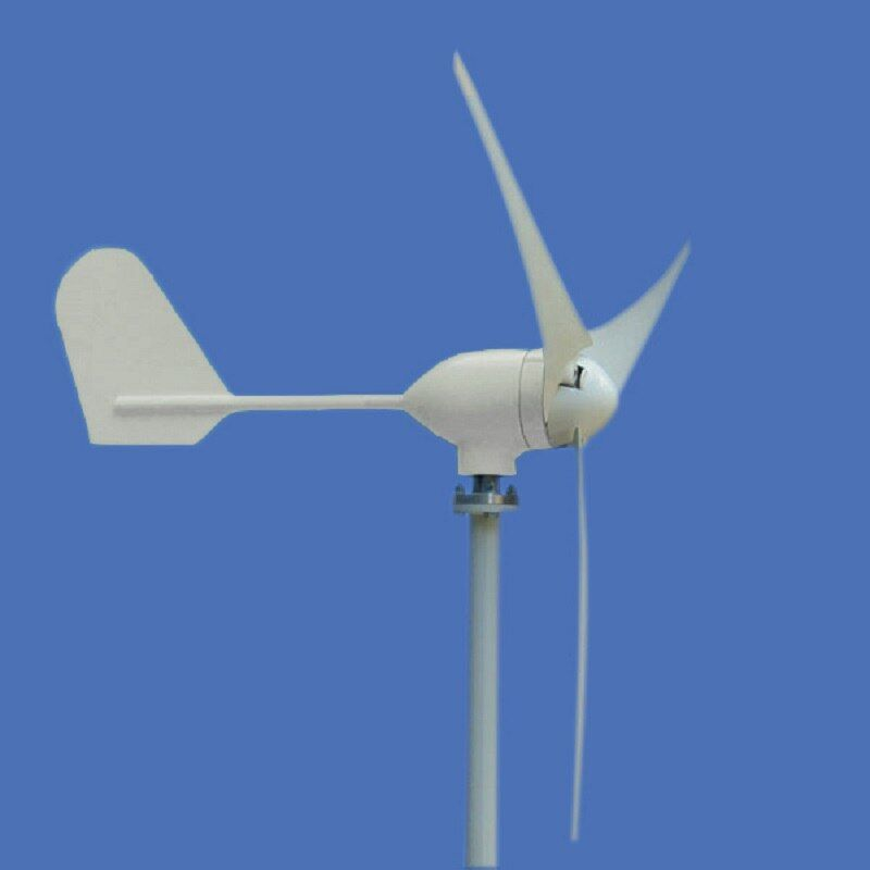 Small Windmill 400w 12v 24v Permanent Magnet Generator Clean and Renewable Energy