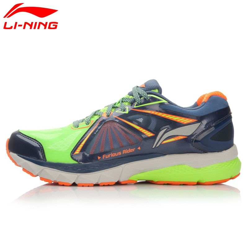 Li-Ning Men's Smart Running Shoes FURIOUS RIDER TUFF OS Stability Sneakers PROBARLOC LiNing Sports Shoes ARHL043 XYP424