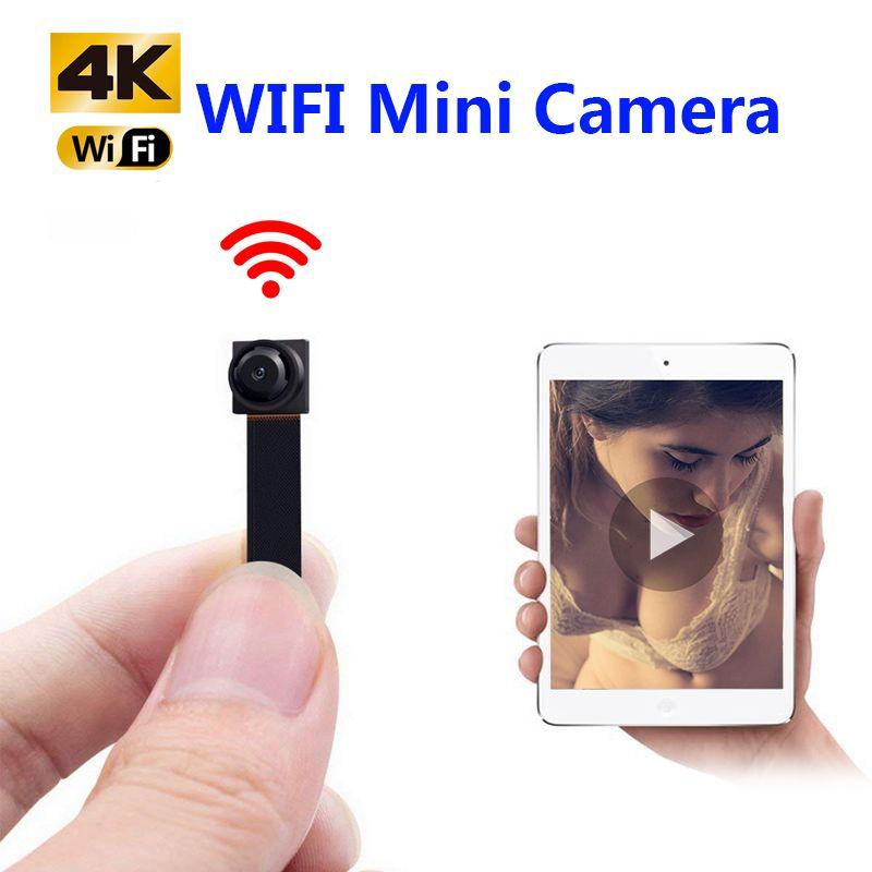 HD 1080 P DIY Tragbare WiFi IP Mini Kamera P2P Wireless Micro webcam Camcorder Video Recorder Unterstützung Remote View Versteckte TF karte