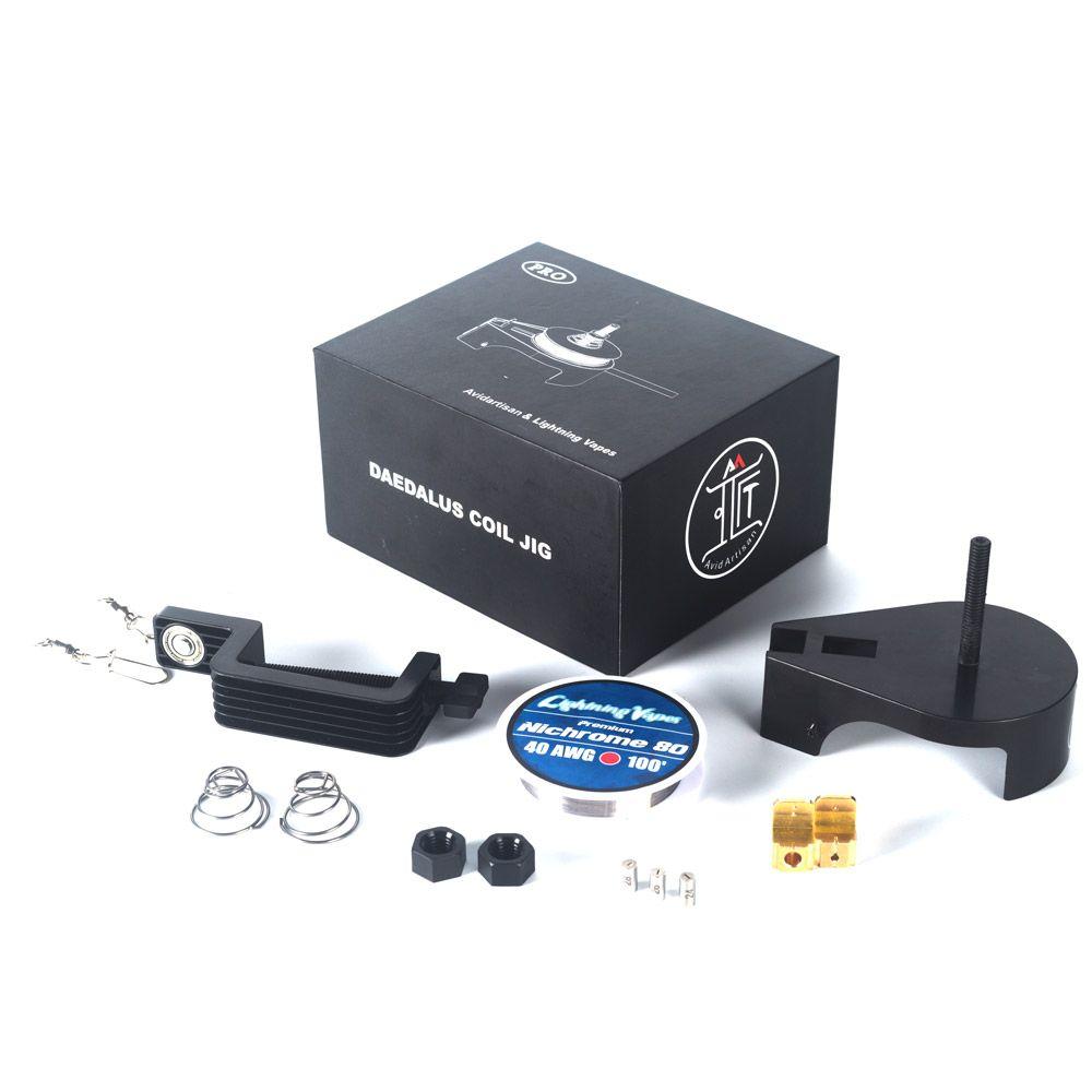 Electronic Cigarette Accessories Original Avidartisan Daedalus Pro Coil Jig Clapton Wire DIY Tool for Vaping DIY enthusiasts