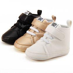 Fácil y cómodo recién nacido suave del bebé del algodón botas nueva venta caliente zapatos de bebé calientes del Invierno 2017 bebé cómodo zapatos