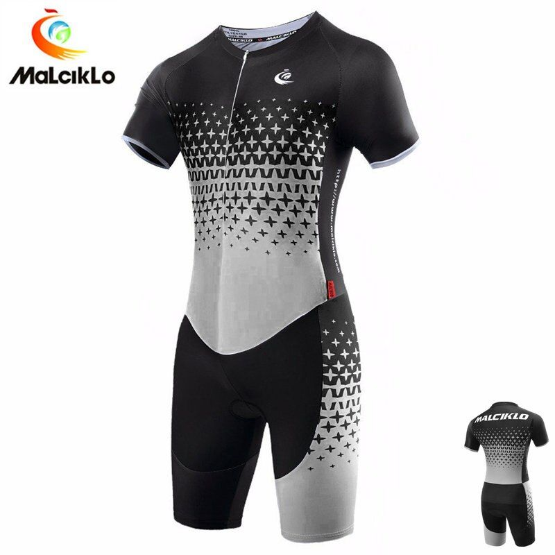 Malciklo High Quality 100% Italy Lycra Pro Fabric Ropa Ciclismo Maillot Cycling Jersey Skinsuit Bike Clothing Triathlon Suit