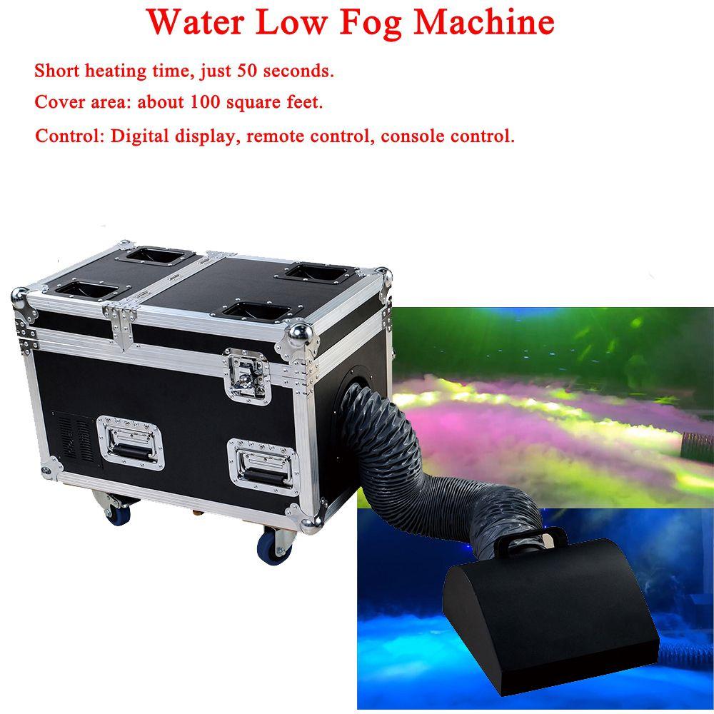 High Power Dj Ausrüstung 3000 W Wasser Basis Nebel Maschine Trockeneis Wirkung Bühne Niedrigen Boden Nebel Rauch Maschine Niedrigen nebel Maschine Für Bühne