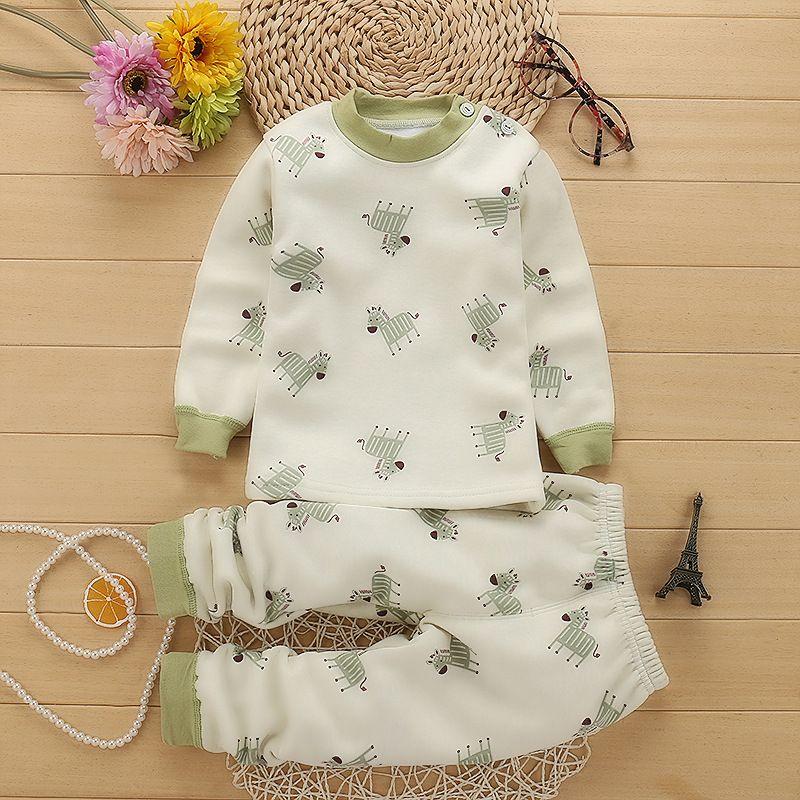 Хит продаж теплая детская одежда для мальчиков и девочек хлопок Наборы для младенцев wkg101-wkg113