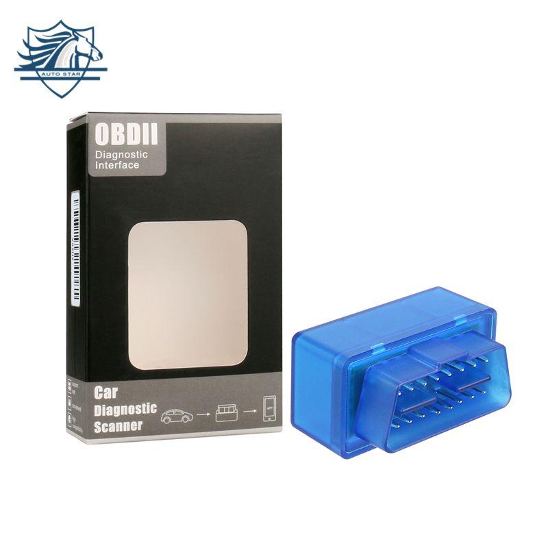 TOP 100% Hardware V1.5 Super MINI ELM327 Software V2.1 Bluetooth 12Kinds Multi-Langugae OBDII CAN-BUS Works ON Android Torque/PC