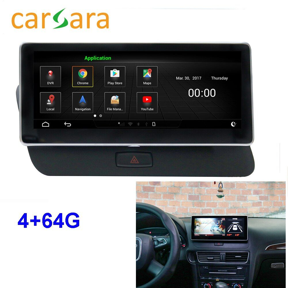 Au di Q5 Radio Facelift Android Monitor 2009-2016 Kopf Einheit Navigation System 10,25 zoll Touch Screen 4g RAM 64g ROM