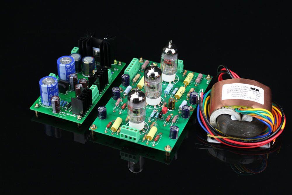 ZEROZONE Montiert E834 RIAA MM Rohr phono amp + Power supply board + transformator L5-37