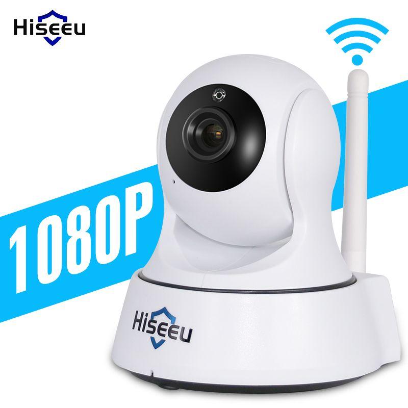 Mini Wireless IP Camera Wifi 1080P Smart Night Vision Surveillance <font><b>Onvif</b></font> Network CCTV Security Camera wi-fi hiseeu baby monitor