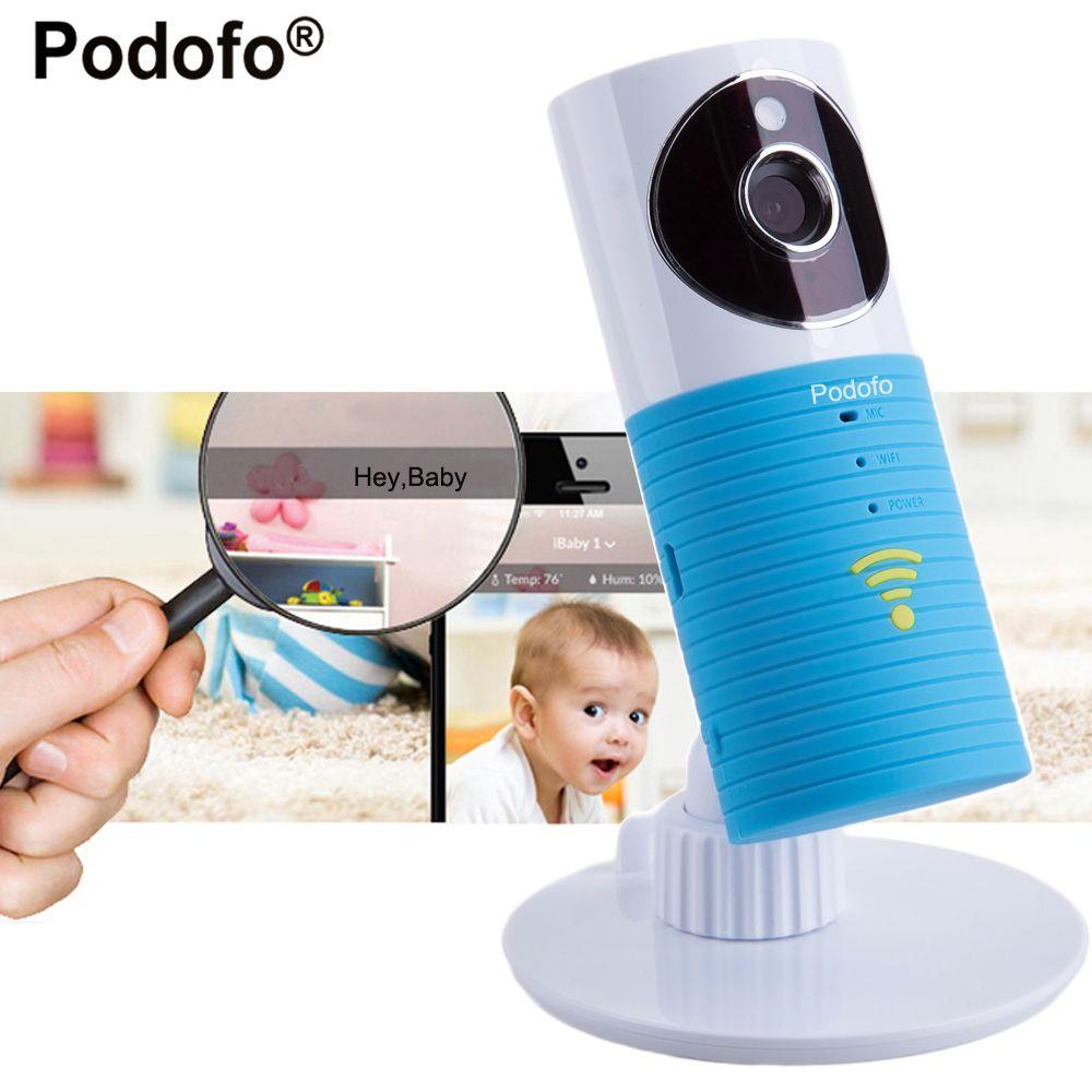 Podofo 720 P HD mini sans fil wifi bébé moniteur, ip caméra Infantile Bébé intelligent chien vidéo de Sécurité Deux-façon TOPS Audio Nuit Vision