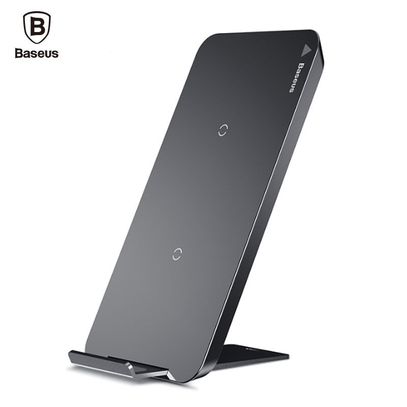 Baseus Qi Wireless Charger For iPhone X 8 Plus Samsung Galaxy S9 S8 Note 8 Phone Fast Wireless Charging Pad Docking Dock Station