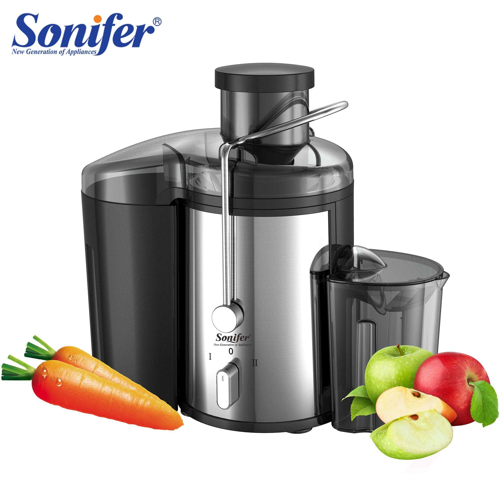 Machine à boire électrique de Fruit d'extracteur de jus de 2 vitesses d'acier inoxydable de 220V pour la maison Sonifer