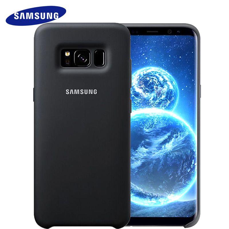 Samsung S 9 s 8 plus couvercle du boîtier forS9 S8 g9550 9500 silicone de protection couverture souple anti-usure usure protection cas D'origine