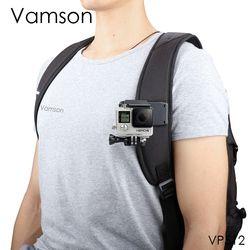 Vamson für Go Pro Zubehör 360-Grad Rotation Clip Für GoPro Hero 7 6 5 4 3 + 3 2 1 für Xiaomi yi für SJCAM für SJ4000 VP512