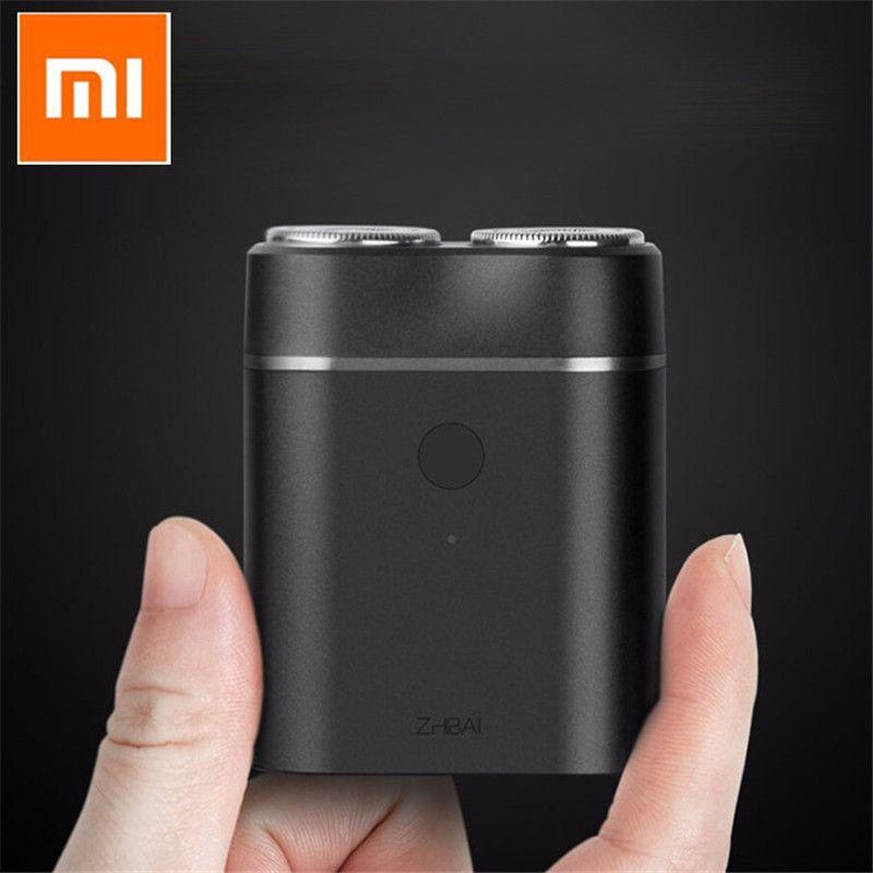 D'origine Xiaomi Mijia Zhibai Accueil Électrique Rasoirs Pour Hommes Étanche Humide Sec Rasage Double-Anneau Lame USB Rechargeable Rasoir