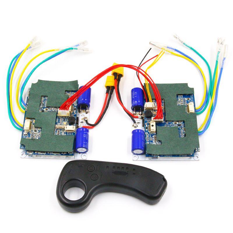 NEUE version 2.4g sender esk8 24 v 36 v 4WD 4-motoren stick controller bürstenlosen hub motor ESC für elektrische skateboard
